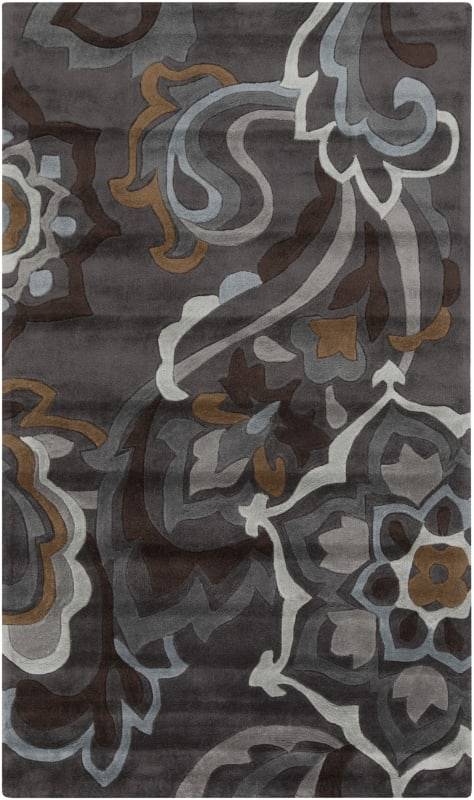 Surya COS-9210 Cosmopolitan Hand Tufted Polyester Rug Gray 2 x 3 Home
