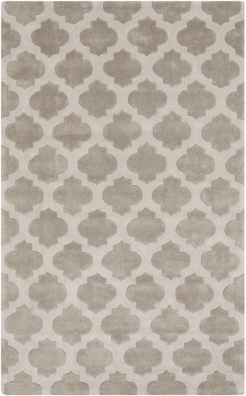Surya COS-9227 Cosmopolitan Hand Tufted Polyester Rug Gray 3 1/2 x 5