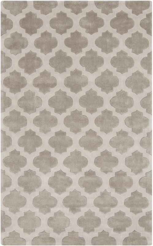 Surya COS-9227 Cosmopolitan Hand Tufted Polyester Rug Gray 5 x 8 Home