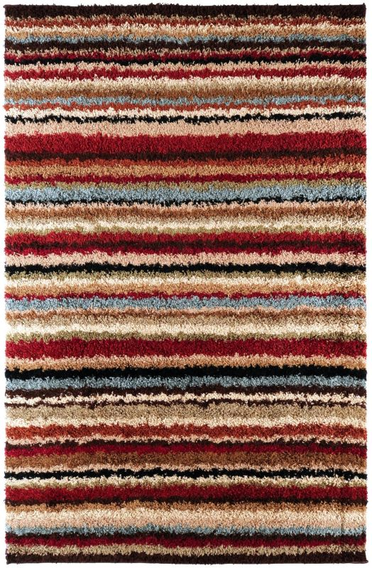 Surya CPT-1712 Concepts Power Loomed Polypropylene Rug Red 8 x 11 Home