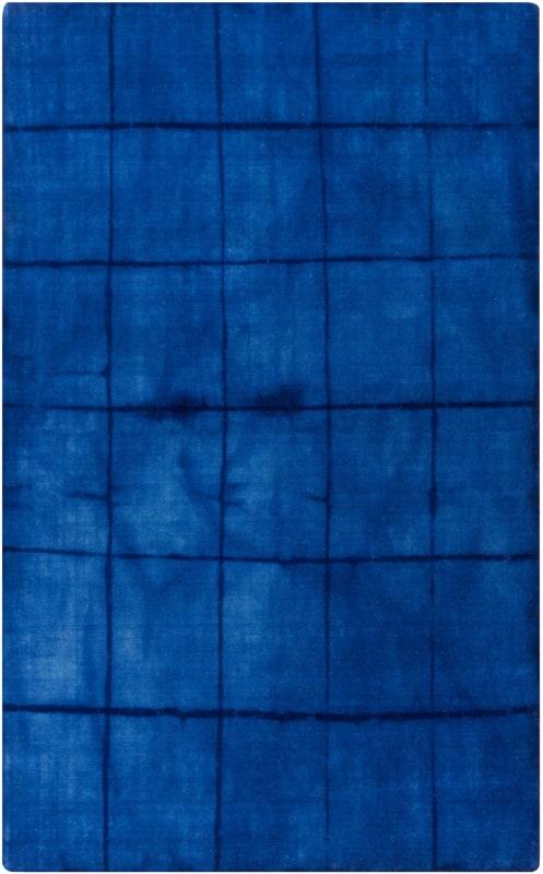 Surya CRS-7000 Cruise Hand Loomed Wool Rug Blue 3 1/2 x 5 1/2 Home