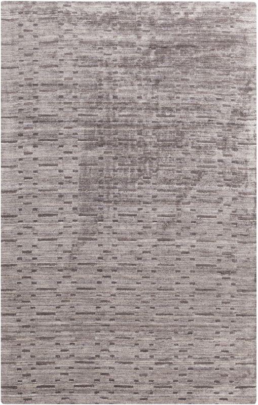 Surya CRY-2000 Crystal Hand Loomed Bamboo Rug Gray 8 x 10 Home Decor