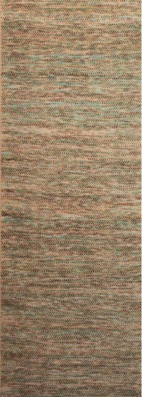 Surya CVE-3000 Cove Hand Woven Jute and Wool Rug Runner 2 1/2 x 8 Home