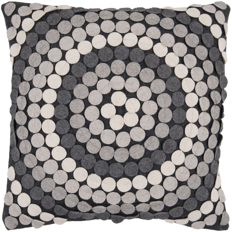 Surya CW-056 Square Indoor Decorative Pillow with Down or Polyester