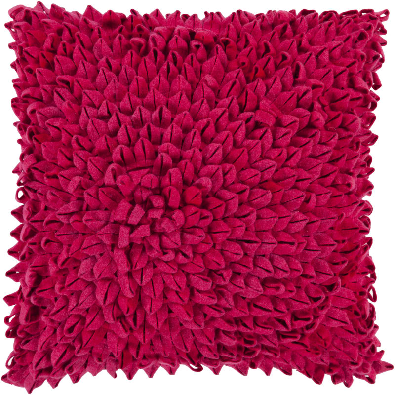Surya DA-003 Square Indoor Decorative Pillow with Down or Polyester