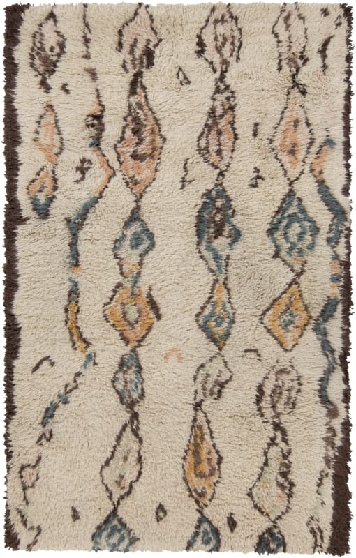 Surya DEN-5002 Denali Hand Knotted Wool Rug Rectangle 5 x 8 Home Decor
