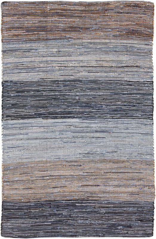 Surya DNM-1000 Denim Hand Loomed Cotton Rug Rectangle 2 x 3 Home Decor