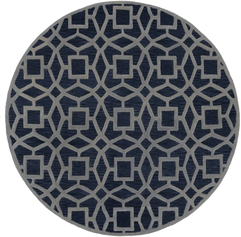Surya DST-1169 Dream Hand Tufted New Zealand Wool Rug Round 8 x 8 Home