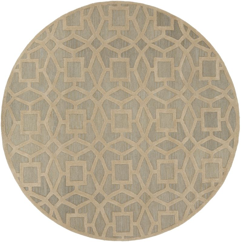 Surya DST-1170 Dream Hand Tufted New Zealand Wool Rug Round 8 x 8 Home