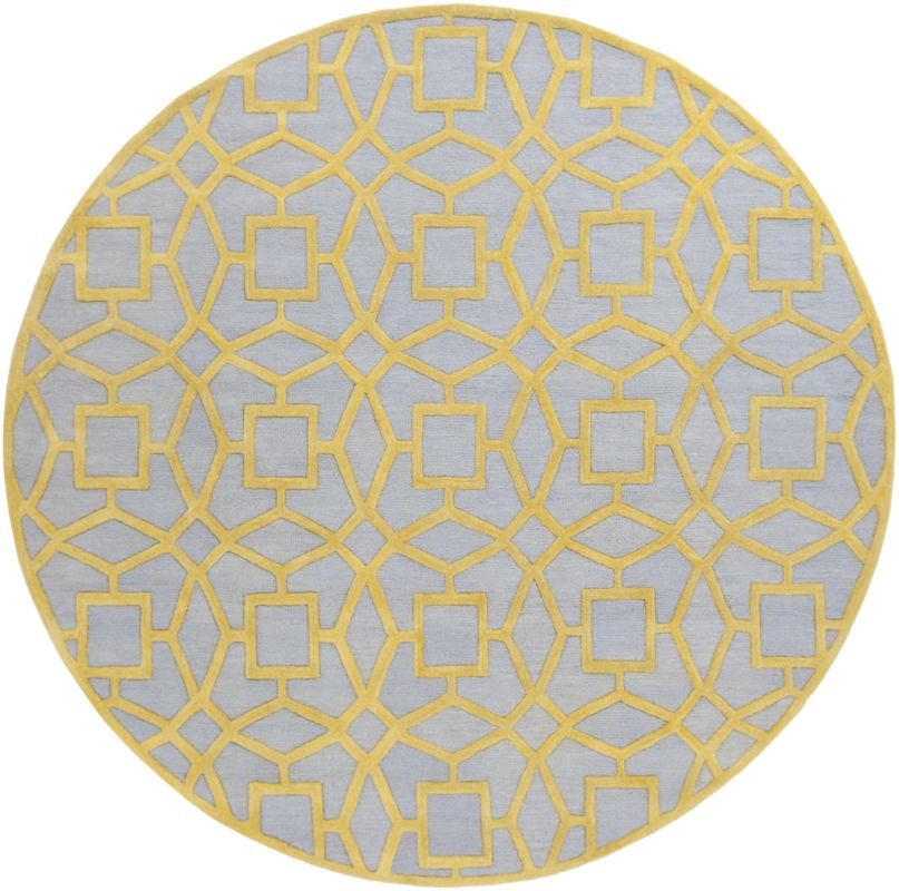 Surya DST-1173 Dream Hand Tufted New Zealand Wool Rug Round 8 x 8 Home