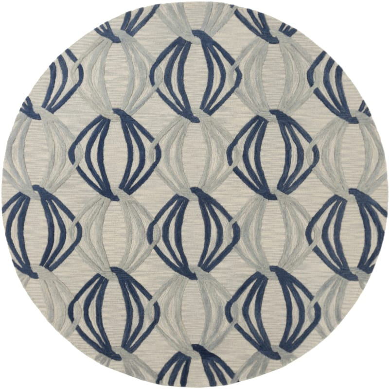 Surya DST-1175 Dream Hand Tufted New Zealand Wool Rug Round 8 x 8 Home