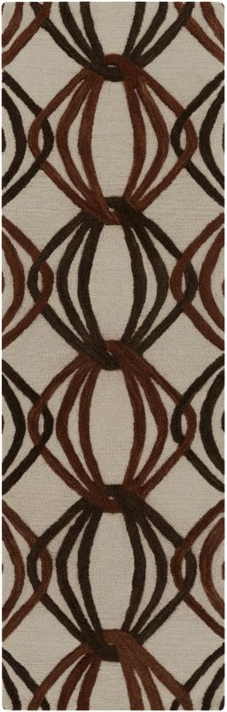 Surya DST-1176 Dream Hand Tufted New Zealand Wool Rug Runner 2 1/2 x 8