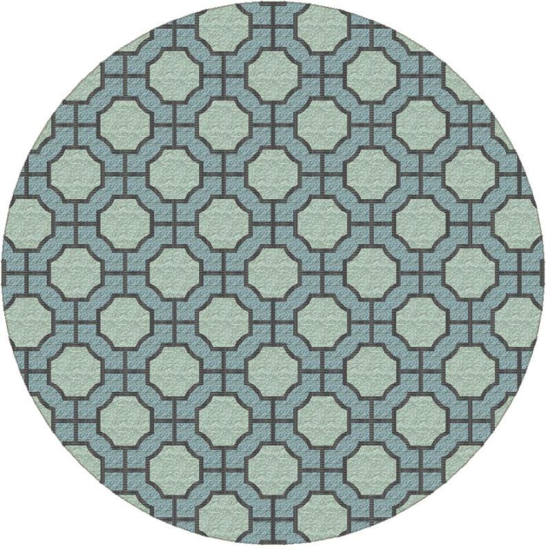 Surya DST-1183 Dream Hand Tufted New Zealand Wool Rug Round 8 x 8 Home