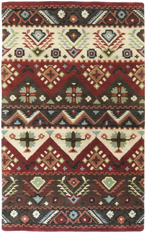Surya DST-381 Dream Hand Tufted New Zealand Wool Rug Rectangle 3 1/2 x