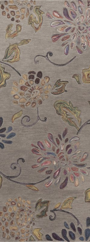 Surya ENC-4001 Enchanted Hand Tufted Wool Rug Runner 2 1/2 x 8 Home