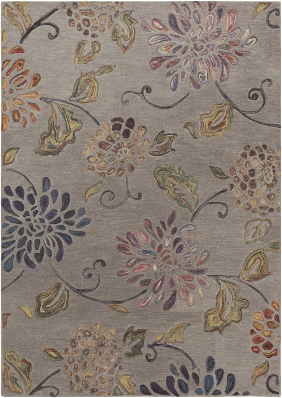 Surya ENC-4001 Enchanted Hand Tufted Wool Rug Rectangle 5 x 8 Home