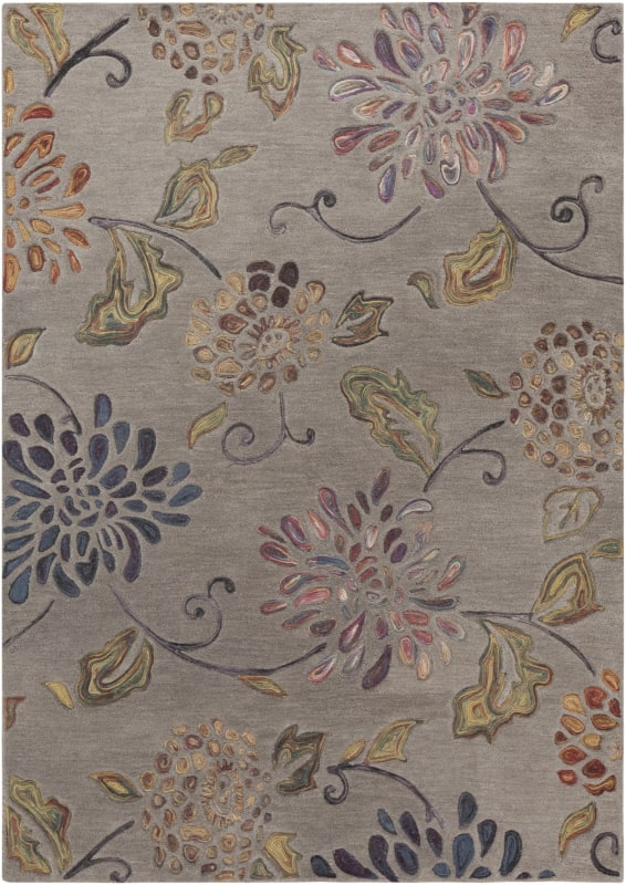 Surya ENC-4001 Enchanted Hand Tufted Wool Rug Rectangle 9 x 13 Home
