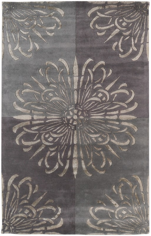 Surya ESS-7629 Essence Hand Tufted New Zealand Wool Rug Rectangle 5 x