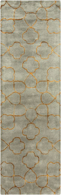 Surya ESS-7667 Essence Hand Tufted New Zealand Wool Rug Runner 2 1/2 x