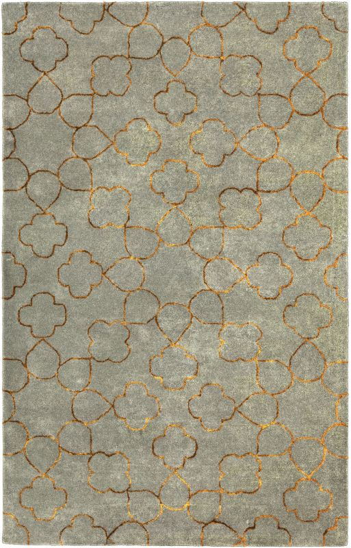 Surya ESS-7667 Essence Hand Tufted New Zealand Wool Rug Rectangle 5 x