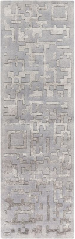 Surya ESS-7690 Essence Hand Tufted New Zealand Wool Rug Runner 2 1/2 x