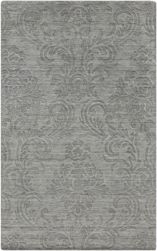 Surya ETC-4926 Etching Hand Loomed Wool Rug Rectangle 5 x 8 Home Decor