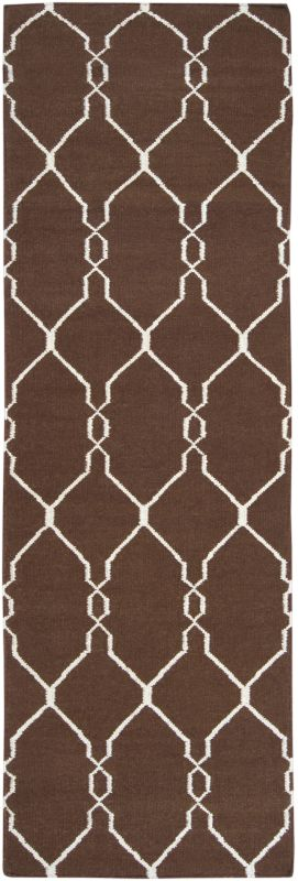 Surya FAL-1000 Fallon Hand Woven Wool Rug Runner 2 1/2 x 8 Home Decor