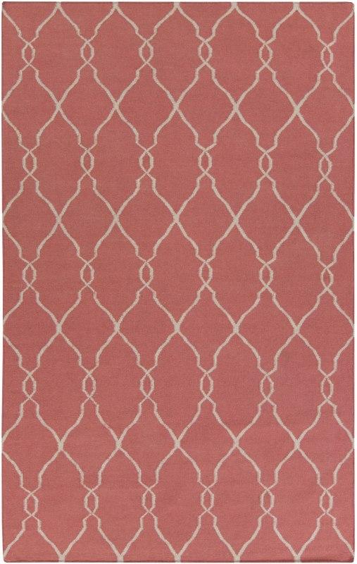 Surya FAL-1002 Fallon Hand Woven Wool Rug Rectangle 3 1/2 x 5 1/2 Home