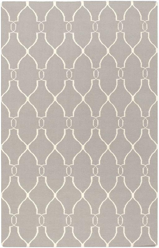 Surya FAL-1003 Fallon Hand Woven Wool Rug Rectangle 3 1/2 x 5 1/2 Home