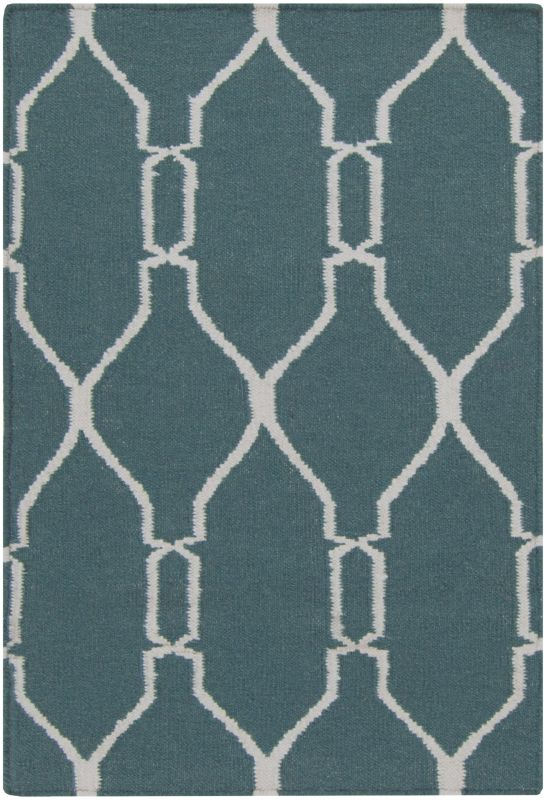Surya FAL-1007 Fallon Hand Woven Wool Rug Rectangle 2 x 3 Home Decor