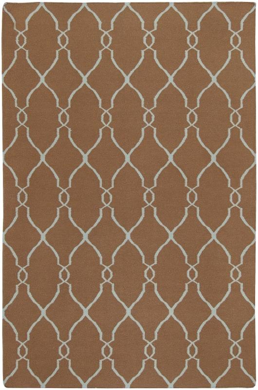 Surya FAL-1008 Fallon Hand Woven Wool Rug Rectangle 3 1/2 x 5 1/2 Home