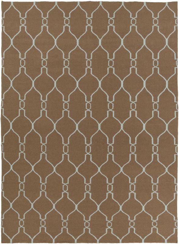 Surya FAL-1008 Fallon Hand Woven Wool Rug Rectangle 8 x 11 Home Decor