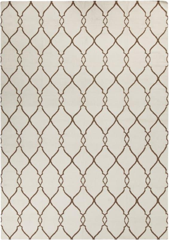 Surya FAL-1009 Fallon Hand Woven Wool Rug Rectangle 8 x 11 Home Decor