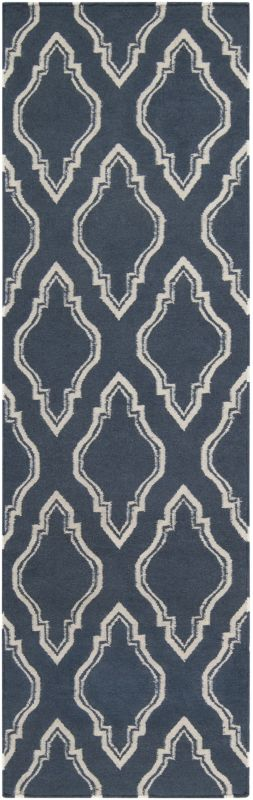 Surya FAL-1050 Fallon Hand Woven Wool Rug Runner 2 1/2 x 8 Home Decor