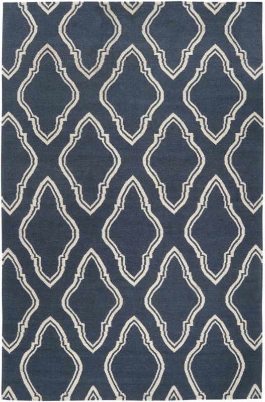 Surya FAL-1050 Fallon Hand Woven Wool Rug Rectangle 5 x 8 Home Decor