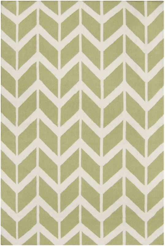Surya FAL-1052 Fallon Hand Woven Wool Rug Rectangle 3 1/2 x 5 1/2 Home