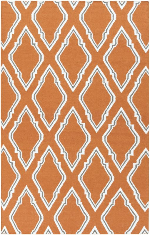 Surya FAL-1098 Fallon Hand Woven Wool Rug Rectangle 3 1/2 x 5 1/2 Home
