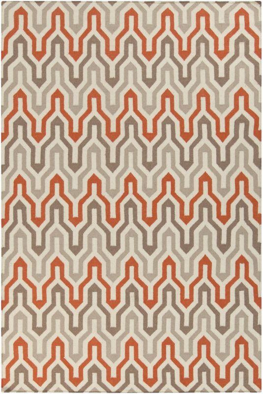 Surya FAL-1103 Fallon Hand Woven Wool Rug Rectangle 3 1/2 x 5 1/2 Home