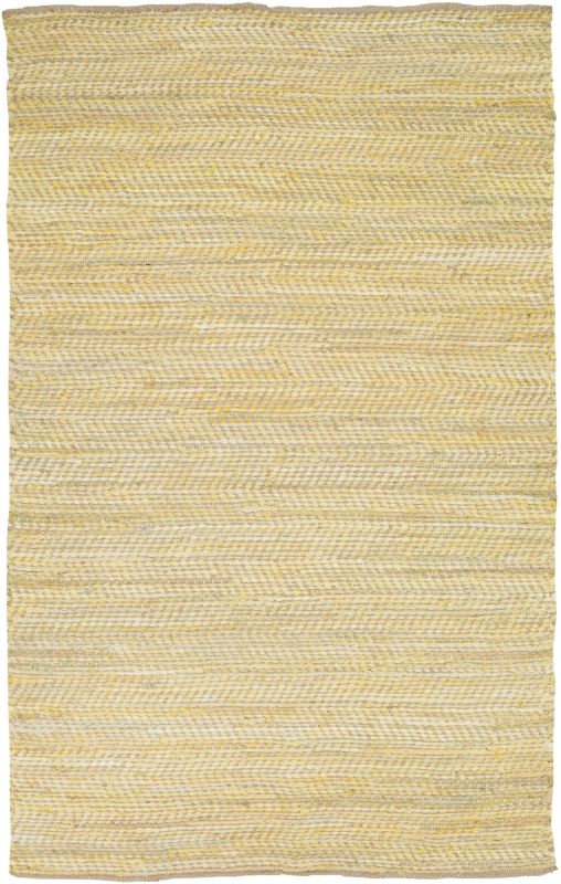 Surya FAN-3007 Fanore Hand Loomed Cotton and Jute Rug Rectangle 3 1/2