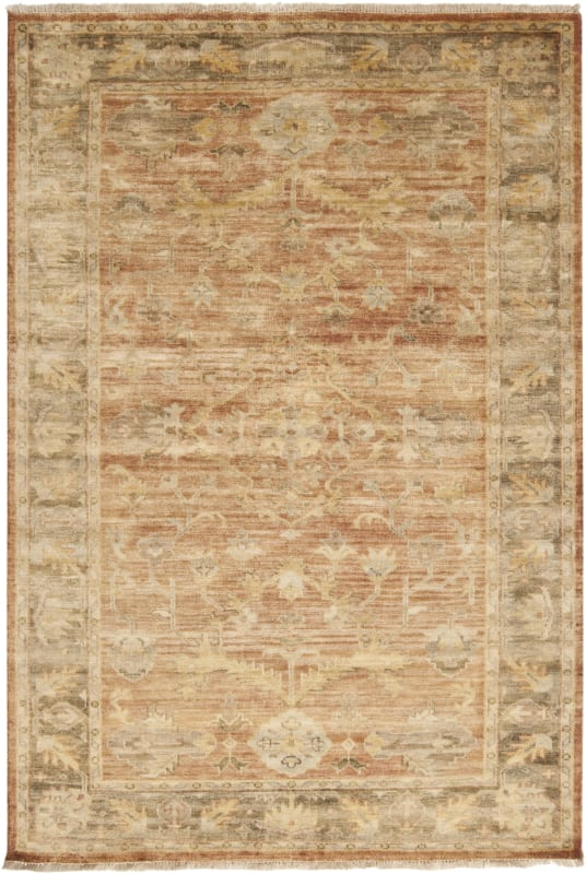 Surya HIL-9009 Hillcrest Hand Knotted New Zealand Wool Rug 9 x 13