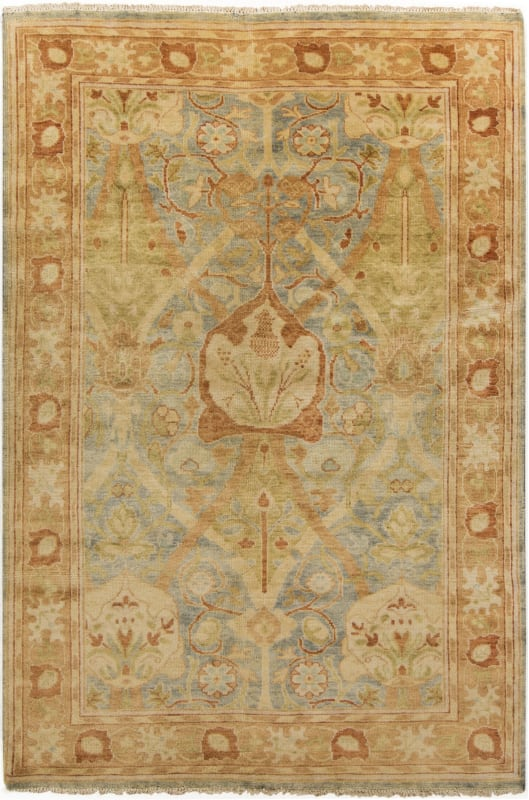 Surya HIL-9022 Hillcrest Hand Knotted New Zealand Wool Rug 9 x 13