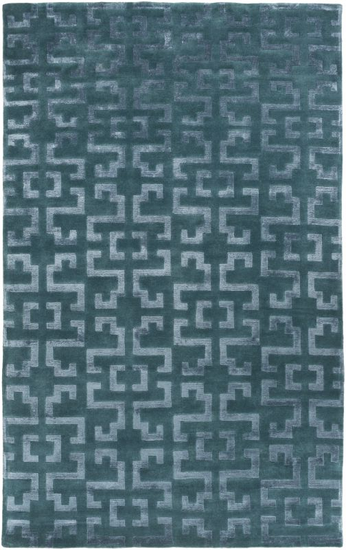 Surya IN-8613 Mugal Hand Knotted 100% Semi-Worsted New Zealand Wool