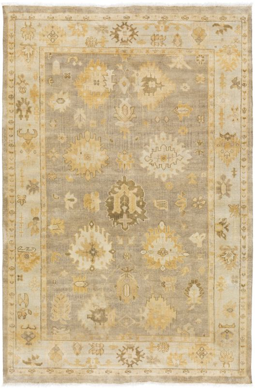 Surya IST-1000 Istanbul Hand Knotted 100% New Zealand Wool Rug 5 1/2 x