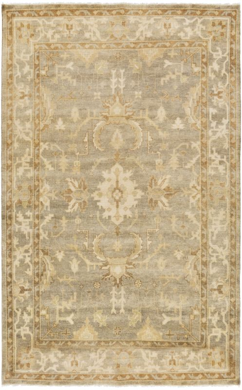 Surya IST-1001 Istanbul Hand Knotted 100% New Zealand Wool Rug 3 1/2 x