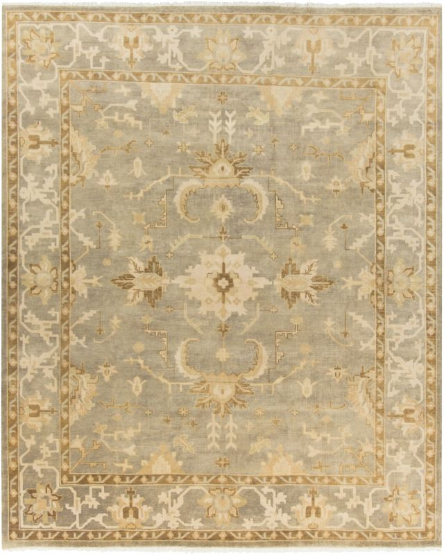 Surya IST-1001 Istanbul Hand Knotted 100% New Zealand Wool Rug 8 x 10