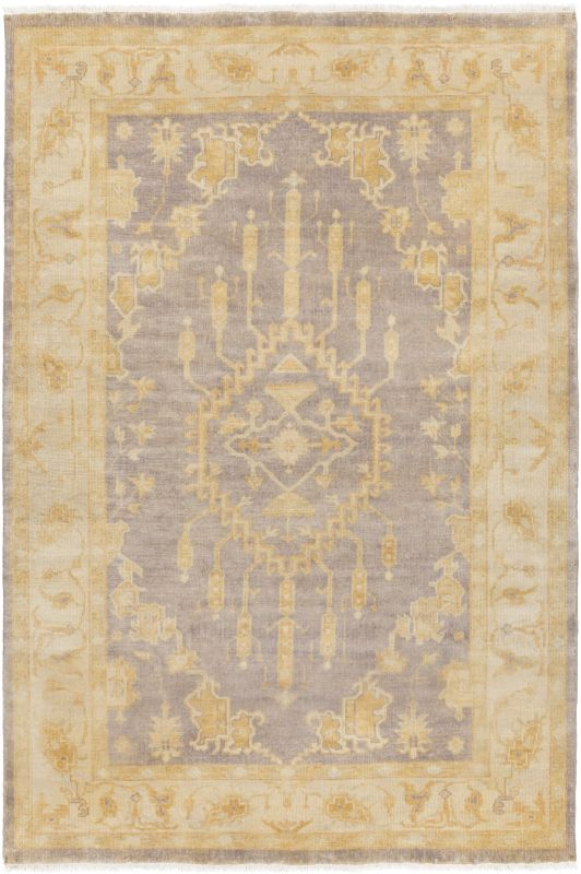 Surya IST-1002 Istanbul Hand Knotted 100% New Zealand Wool Rug 2 x 3