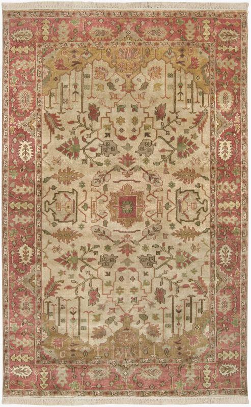 Surya IT-1181 Adana Hand Knotted 100% Semi-Worsted New Zealand Wool