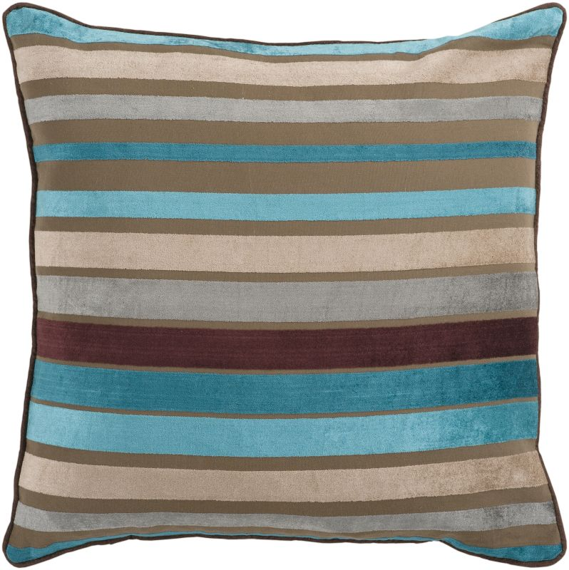 Surya JS-024 Square Indoor Decorative Pillow with Down or Polyester Sale $52.53 ITEM: bci2693242 ID#:JS024-2222D UPC: 764262459081 :