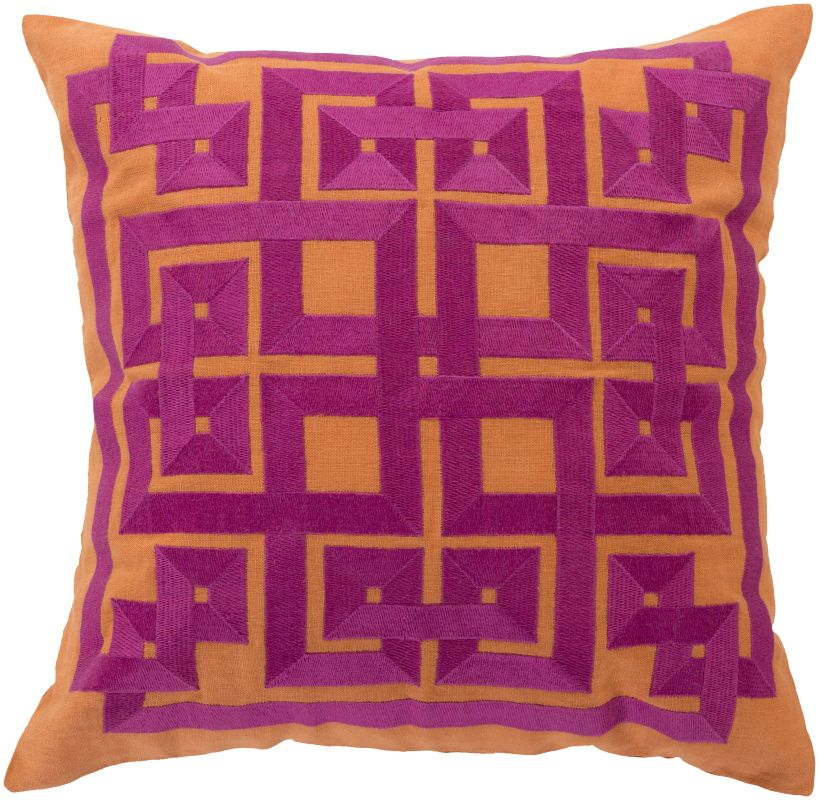Surya LD-014 Square Indoor Decorative Pillow with Down or Polyester Sale $45.33 ITEM: bci2693766 ID#:LD014-1818D UPC: 764262894639 :