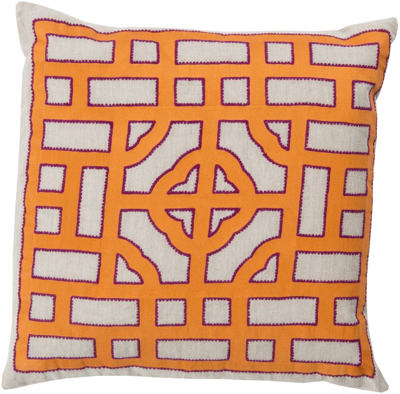 Surya LD-051 Square Indoor Decorative Pillow with Down or Polyester Sale $52.68 ITEM: bci2693954 ID#:LD051-2020D UPC: 764262864014 :